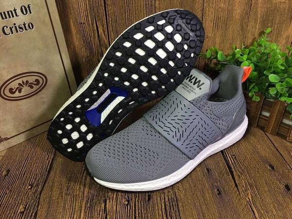 Original Adidas Ultra Boost X Wood Wood WW Consortium Wmns Running Shoes Mens Women UltraBoost Cheap Classic Sneakers Red Pink Size 36 45 Running
