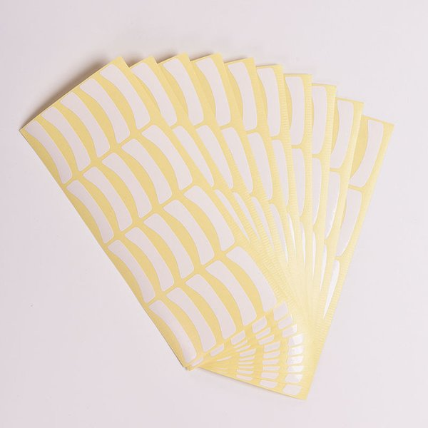 Wholesale-100pairs/lot New Type Paper Patches Eyelash Under Eye Pads Eyelash Extension Eye Tips Sticker Cosmetic Makeup Tools For Women