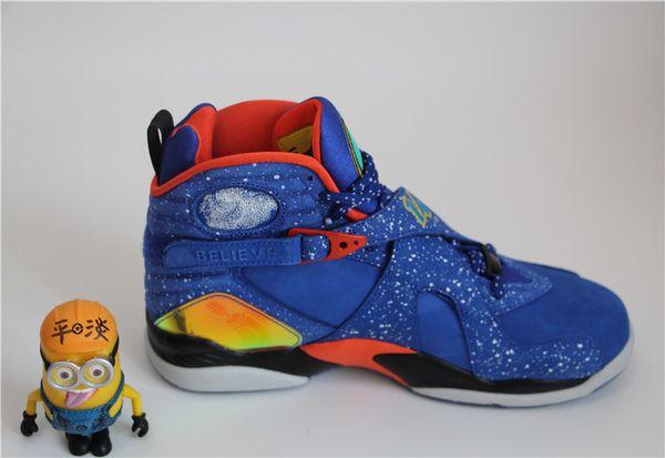 newest f3c6e 56015 Wholesale Retro Doernbecher 8 Sport Sneakers DB8 Mens Baskeball Shoes 100%  Athletic DB 8 HYPER BLUE ORANGE BLACK WHITE Shoes Canada Carmelo Anthony ...