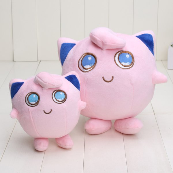 Free shipping Pikachu center Plush Toys 15cm/22cm Jigglypuff Soft Stuffed Animals Toy Doll Children Christmas Gift