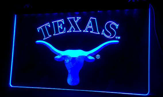 LS091-b Texas logo Neon Light Sign Decor Free Shipping Dropshipping Wholesale 6 colors to choose