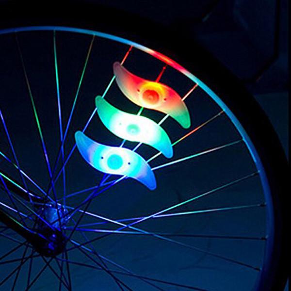 top popular With Bettery Bike Light New Bike Accessories Led Wheel Spoke lamp Cool Velo Bicycle Wheel Light NEW Bicycle Accessories 2019
