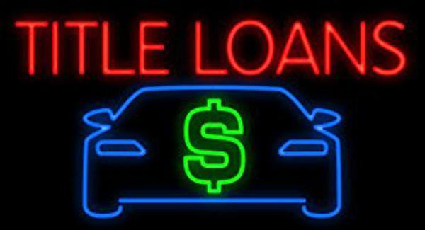 """Title Loans Car Dollar Logo Neon Sign Customized Hand-crafted Real Glass Tuble Shop Store Motel Restaurant Paying Display Neon Signs 19""""X12"""""""