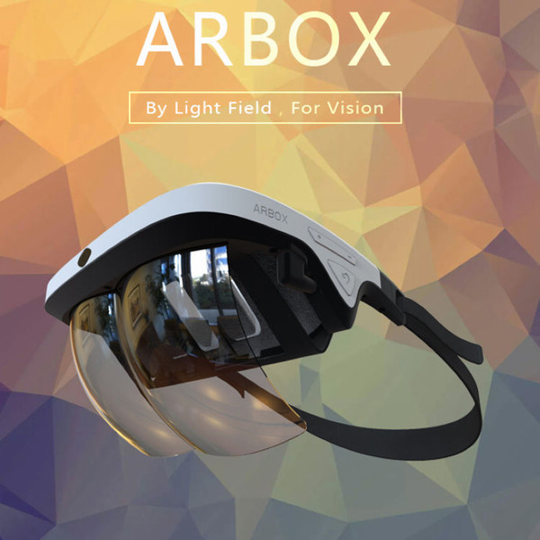 Sıcak satış siyah artırılmış gerçeklik kulaklık 3d vr kutusu vr Sanal gerçeklik kutusu android ios ve windows için 3d gözlük