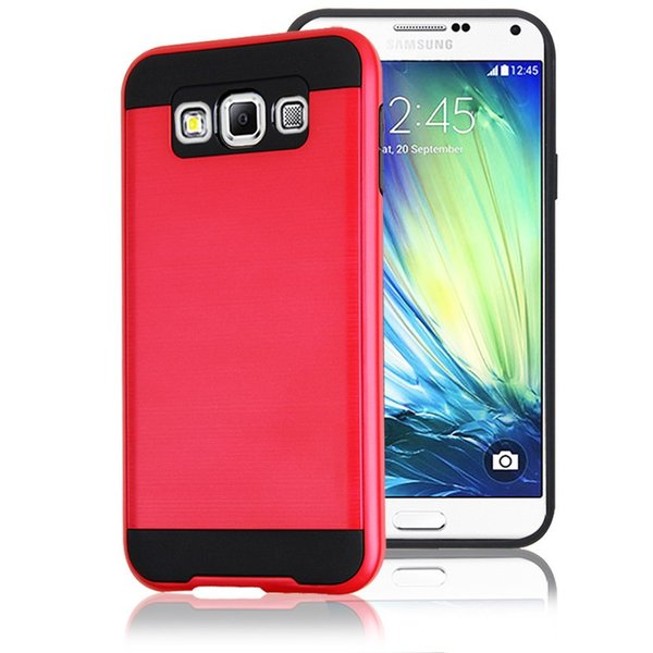 Hot Sell Cheap Hybrid Lars Mars Polish Dual Layer Armor Cell Phone Case Cover for Samsung Galaxy A3 A5 A7 2016 Retail Package