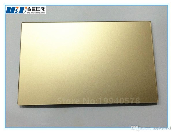 """Freeshipping 617-00327-04 100% NEW Laptop Gold Trackpad NO Cable For Mac book pro 12"""" A1534 MF855 MF865 2015 Year"""