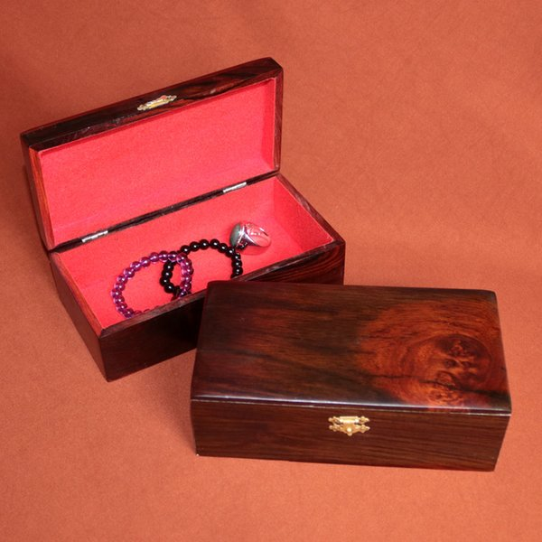 African Siam wood Jewelry storage boxes for bandle Bracelet necklace Earrings Ring wooden case Wedding décor girl gift