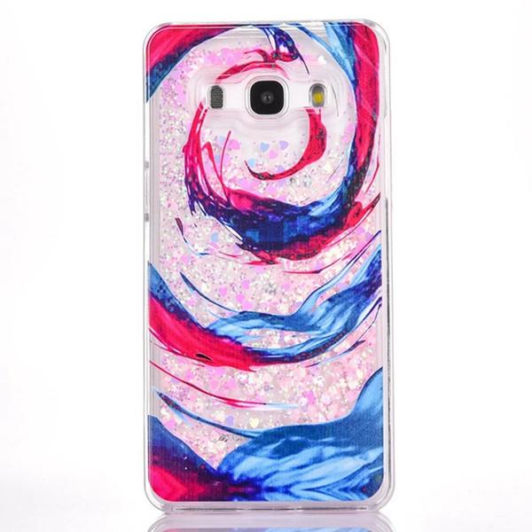 Sable Rapide Liquide Dur PC Case Pour Samsung Galaxy Grand G530 G531H Bande Dessinée Fleur Effacer Dynamique Glitter Cerf Arbre Fille Amour Couverture de Peau