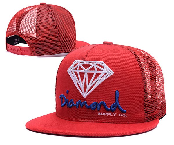 Diamond Snapbacks Hats Snapback Hats Caps Men Women hot sale Snapbacks Adjustable Diamond supply co. Snap back cap Mix Order Top Quality