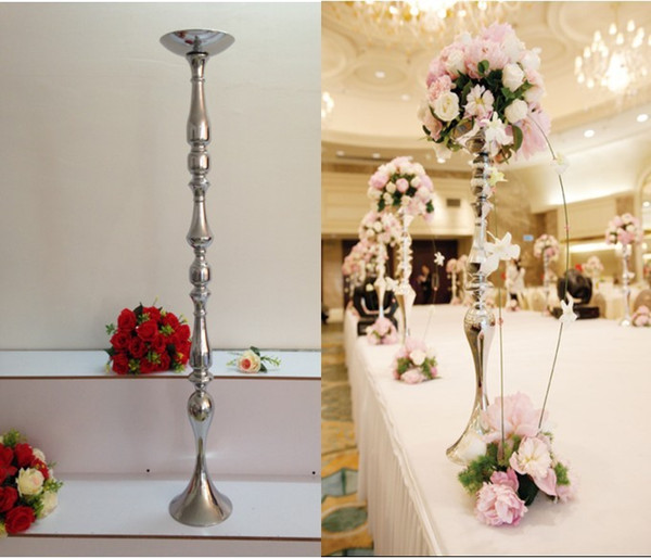 120 cm tall height wedding road lead wedding table centerpiece wedding flower ball holder metal stand T-stage decoration (120 CM)