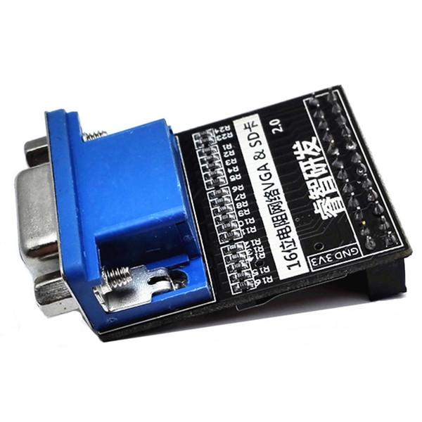 VGA Module 16 Bit 65536 Color SD Card Video Image Acquisition Module For Altera FPGA Core Board