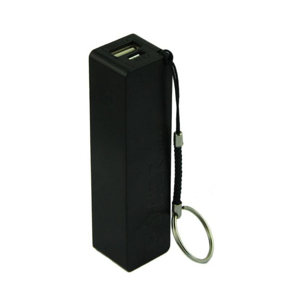 Best Price Portable Power Bank 18650 External Backup Battery Charger With Key Chain 0.8