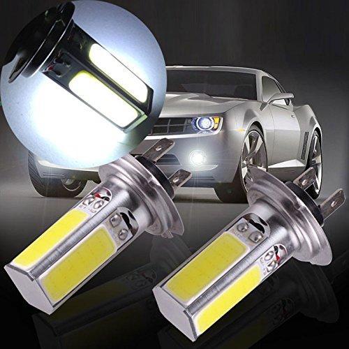 COB Faros antiniebla LED Luz de conducción H4 H7 H11 9005 9006 Niebla DRL Coche LED Día de conducción Cabeza Bombilla 20W COB.