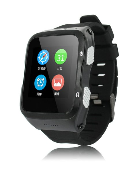 NEW MODEL! S83 WIFI 3G smart watch phone with 1.3G Quad-cores1.3GHz MTK6580M cpu GPS Navigation supporting sim card and camera