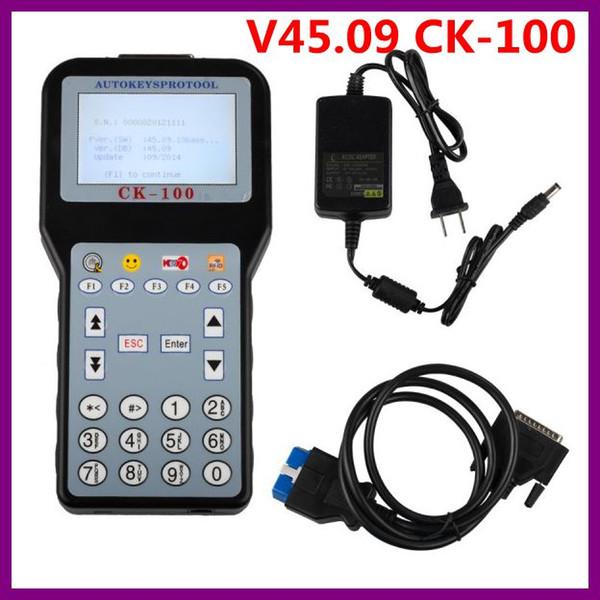 2016 V45.09 CK100 CK100 Selbstschlüsselprogrammierer Unterstützung Bis 2.014,09 Multi-Language-Support Pin-Codeleser-Funktion Teil des Autos