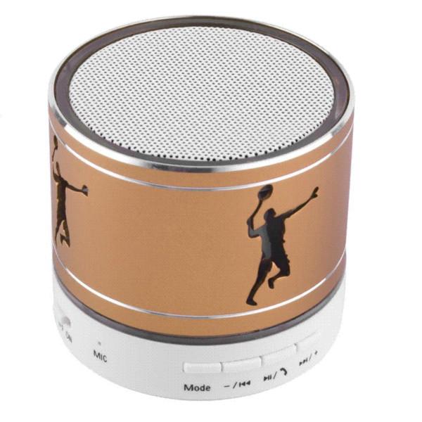 Mini Universal Bluetooth Speaker Wireless LED Light TF Card Stereo Music Boombox Loudspeakers For Mobile Phone Laptop Tablet PC