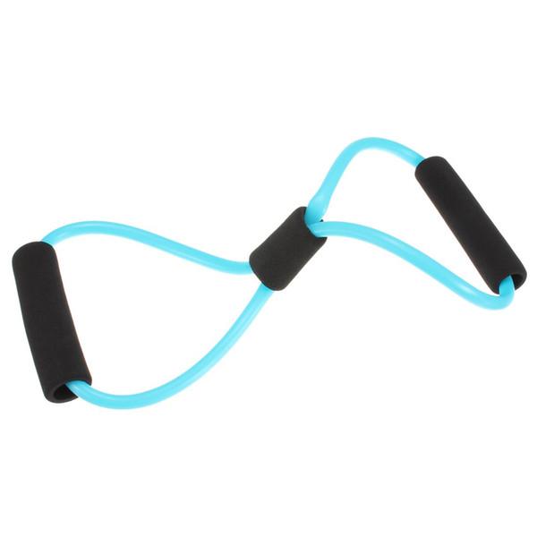 Al por mayor-Yoga Resistencia Bandas tubo estiramiento Fitness Pilates ejercicio herramienta