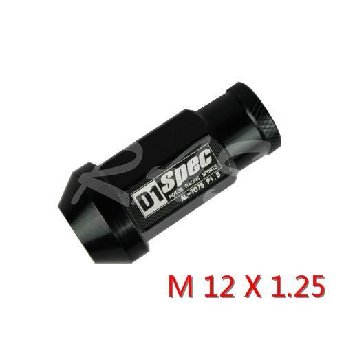 Black M12x1.25