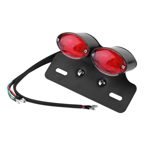 Universal Motorcycle Motor Motorbike RED Brake Tail Rear Light Bulb ATV Cafe Racer hot selling