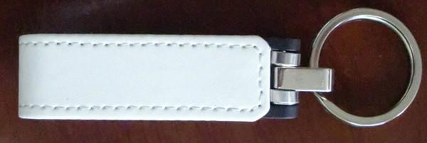 10 Piece 16GB 32GB No logo New Leather USB Flash Drives Leather USB Flash Memory Stick USB3.0 Metal Key Ring Leather U Disk