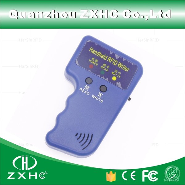 Wholesale-Handheld ID Cards 125KHz RFID Copier Reader Writer Duplicator Used for T5577 EM4305 Copy