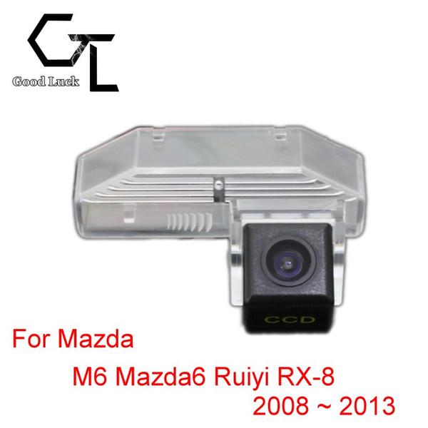 Para Mazda M6 Mazda6 Ruiyi RX-8 2008 ~ 2013 Auto Inalámbrico Auto Reverse CCD HD Cámara de visión trasera Asistencia de estacionamiento