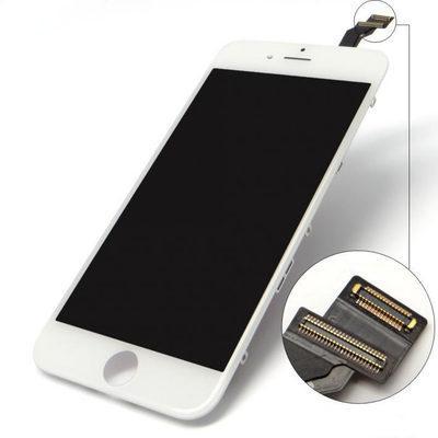 Schwarz Weiß LCD Display Touchscreen Digitizer Vollversammlung für iPhone 6 6plus Ersatz Ersatzteile DHL Freies SNP017