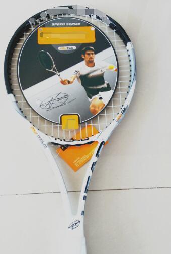 CHAUD! YouTek IG Speed Pro nouvelles raquettes de tennis 100% L 5 carbone Djokovic Raquette, cordes et sac compris, Livraison gratuite