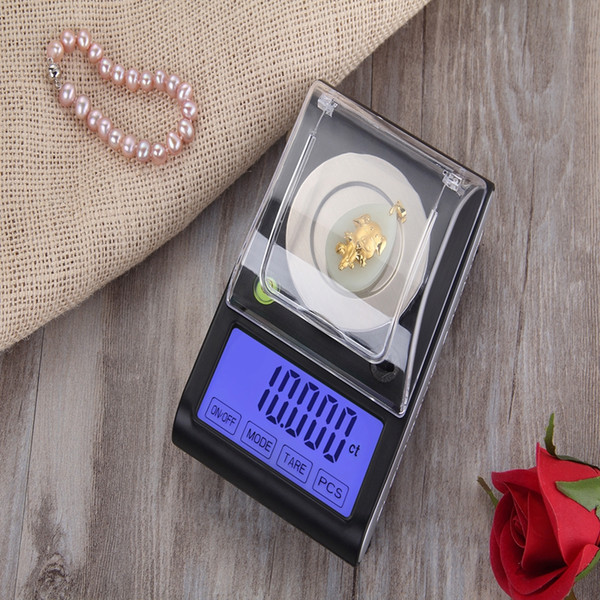 50g/0.001 Precision Touch LCD Electronic Jewelry Scales 0.001g Diamond Gold Germ Medicinal Pocket Digital Scale Weighing Balance