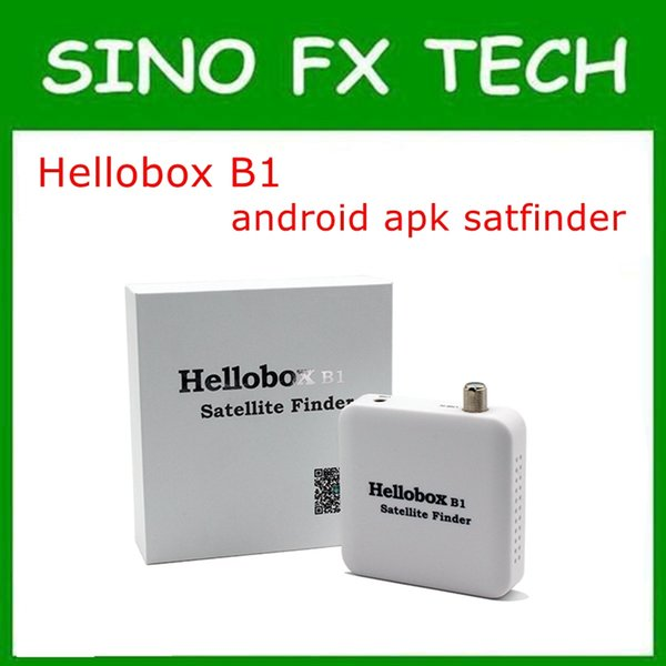 HELLOBOX B1 Bluetooth Satellite Finder With Android System