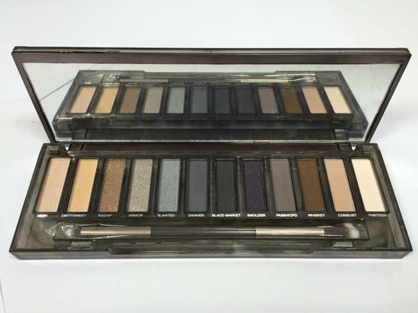 NUDE Smoky Palette 12 Color Eyeshadow Palette 12*1.3g High quality DHL Free shipping