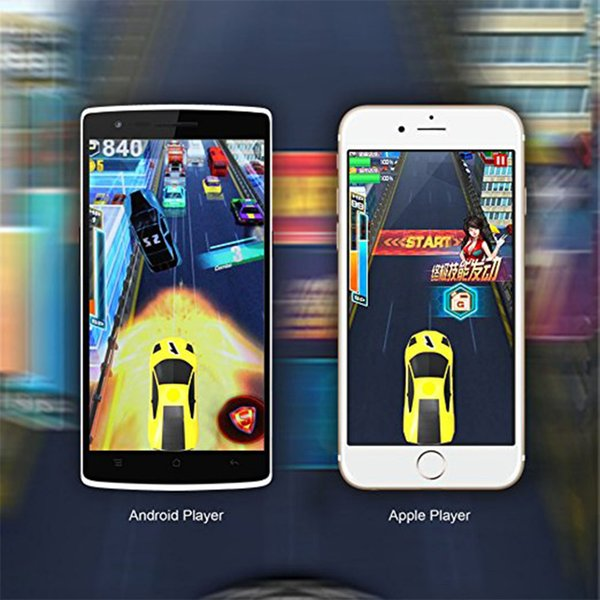 AR Racing Car with Real Flashes Leaps Vibrations Pocket Toy Mini Toy Car for Iphone iPad and Android Phone with Retail Package