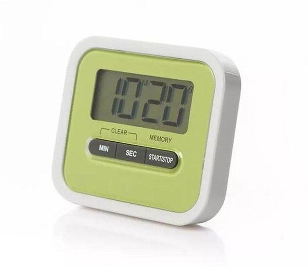 LCD Digital Kitchen Countdown Timer Alarm Plastic Display Timer Clock Kitchen Timers Cooking Tools Accessories