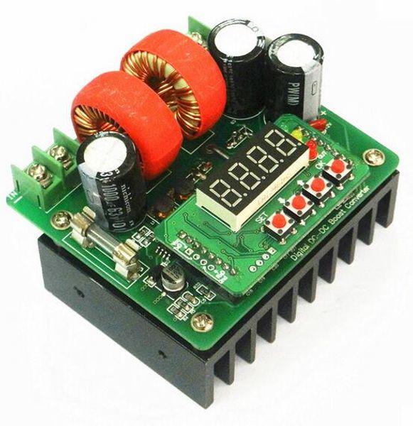 B400W Мини DC-DC Цифровое Управление Шаг вниз Модуль Питания Регулируемый ток модуля Модуль Электронные Компоненты 80V10A