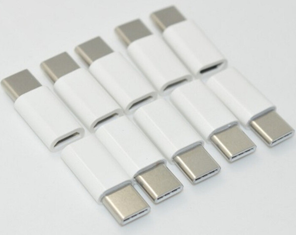 Wholesale USB 3.1 Type-C Male to Micro USB Female Mini Metal Connector Adapter Type C Type-c Max speed 5Gbps