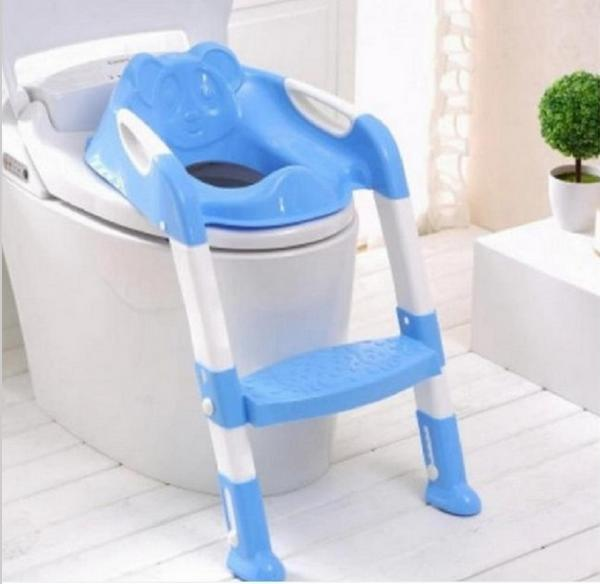 Fashion Potty Seat With Ladder Children Kids Baby Toilet Folding Infant  Potty Chair Training Portable Toilet
