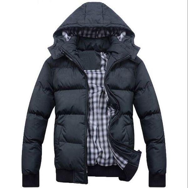2017 New Casual Brand White Duck Down Jacket Men Autumn Winter Warm Coat Men's Ultralight Duck Down Jacket Male Windproof Size:M-3XL