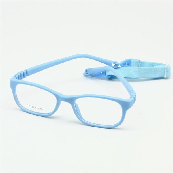 cb7ac399a Crianças flexíveis óculos de armação tamanho 44/16 TR90 crianças óculos,  sem parafuso,
