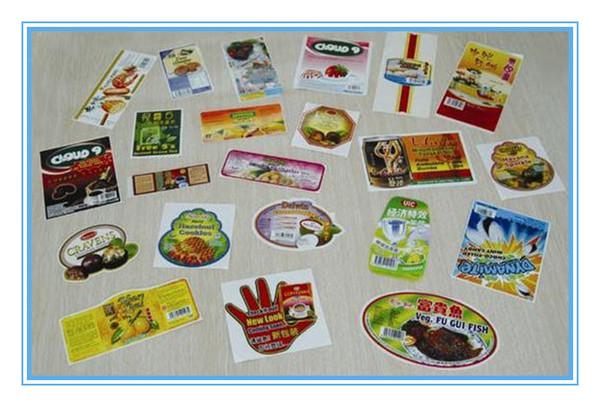 customized hot PVC die-cutting cartoon self adhesive sticker label