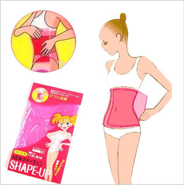 2000pcs Top Quality Sauna Slimming Belt Waist Wrap Shaper Burn Fat Cellulite Belly Wraper Waist Shaper Weight Loss Sauna Waist Belt