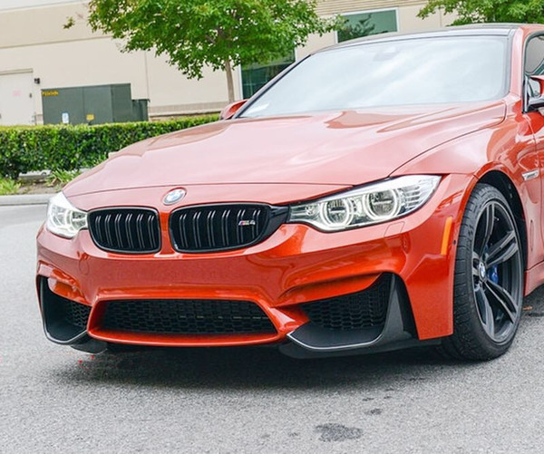 2019 M P Stye Real Carbon Fiber Front Splitter For F80 M3 F82 F83 M4 Front  Bumper B207 From By_motor, $100 51   DHgate Com