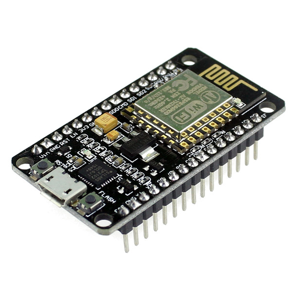 best selling Wholesale-New Wireless Module NodeMcu Lua WIFI Internet of Things Development Board Based ESP8266 with Pcb Antenna and USB Port Node MCU