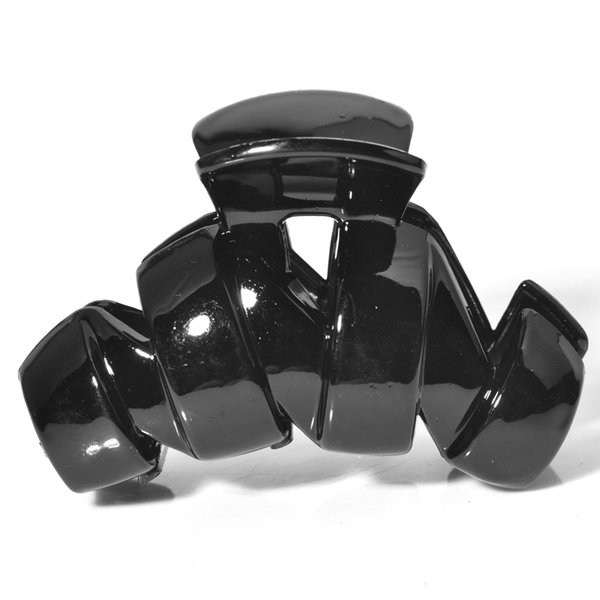 pretty 12Pcs Hair Clip black Plastic Hairdressing Clamp Hair Pin wholesale free shipping lady women accessory