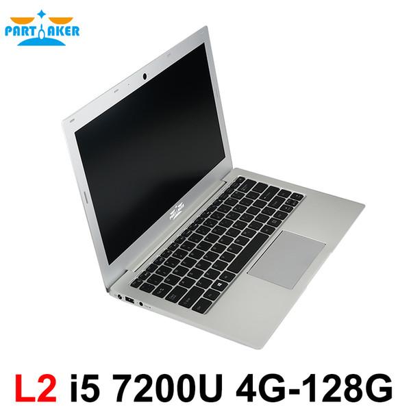 Win10 Laptop Computer Notebook PC 13.3 Inch Core I5 7200U DDR4 Memory M.2 SSD Partaker L2