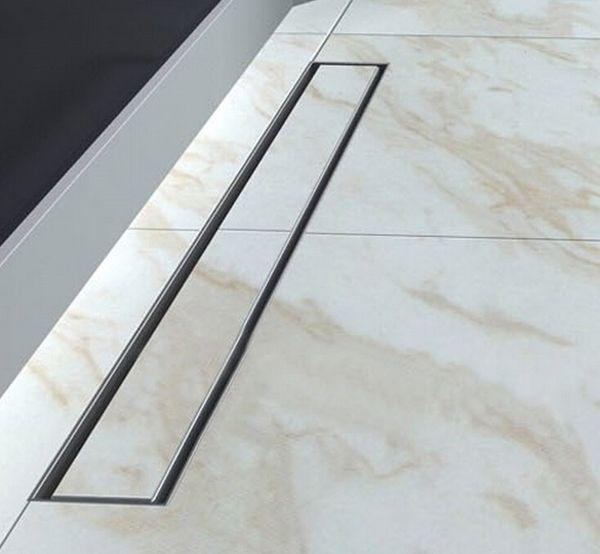 best selling brushed nickel bathroom long 80cm 304 Stainless Steel Linear Shower Drain bath 800mm shower drain channel bath room floor drainer DR128