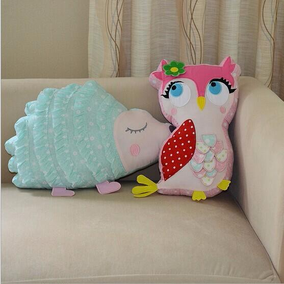 Wholesale 1 PCS Special New Stereo Cartoon Cushion Lovely Children's Room Decorative Cushions Kid's Toy Pillows