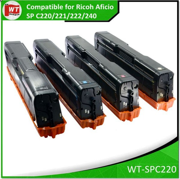 4 HY Toner for Ricoh Aficio SP C220A C220N C221dn C222sf C240SF C210DN Printer