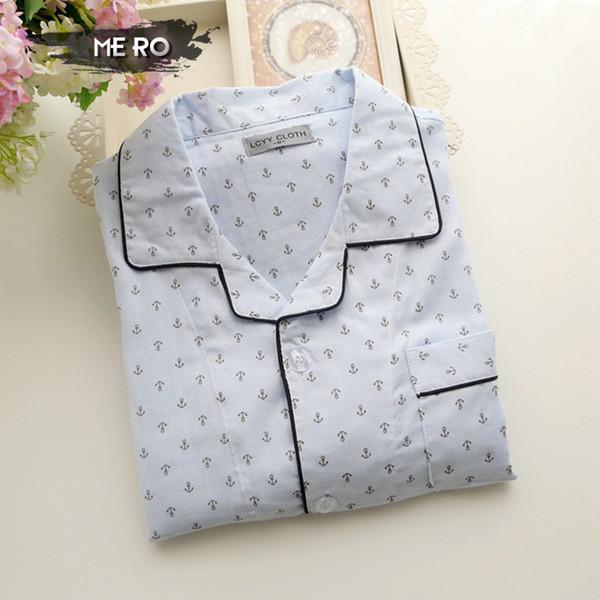 All'ingrosso-2016 nuovo stile coreano set pigiama maschile coreano, trasporto libero cotone bianco stampa casa pigiameria per gli uomini, tute da ginnastica