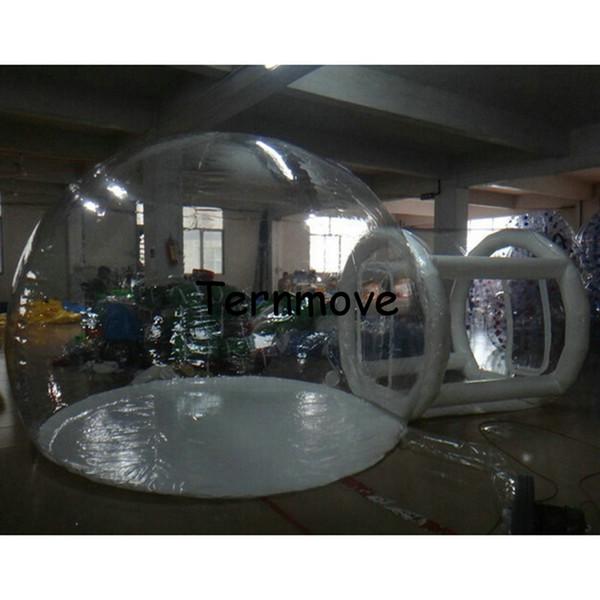 barraca inflável transparente, barracas de acampamento infláveis da bolha, barracas ao ar livre da grande lona, barraca inflável do partido do inverno do tamanho grande