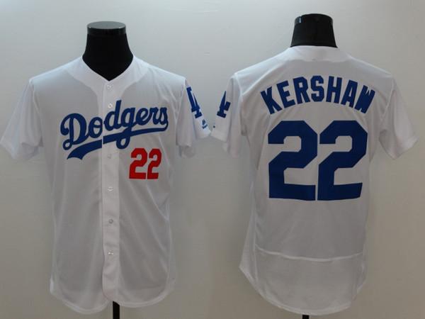 l.a dodgers 22 clayton kershaw majestic royal fashion cool base player jerseys cheapest baseball jerseys